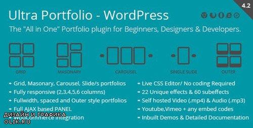 CodeCanyon - Ultra Portfolio v4.2 - WordPress - 9518610