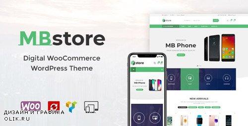 ThemeForest - MBStore v1.5 - Digital WooCommerce WordPress Theme - 22510477