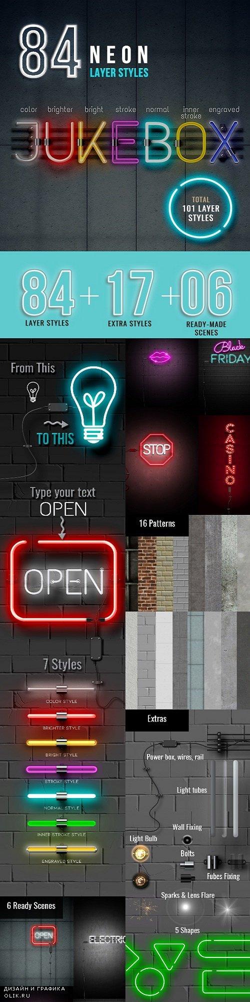 Neon Sign Styles Creator - 23937432