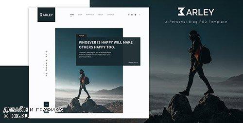 ThemeForest - Barley v1.0 - Creative Personal WordPress Blog Theme - 23635109