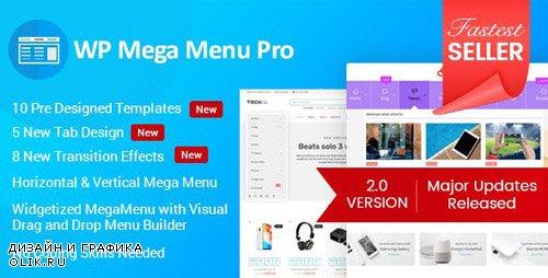 CodeCanyon - WP Mega Menu Pro v2.1.0 - Responsive Mega Menu Plugin - 19190840
