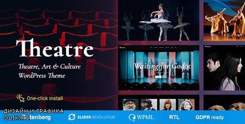 ThemeForest - Theater v1.1.3 - Concert & Art Event Entertainment Theme - 20428253