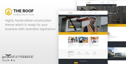 ThemeForest - Roof v2.1 - WP Construction, Building Business - 20133757
