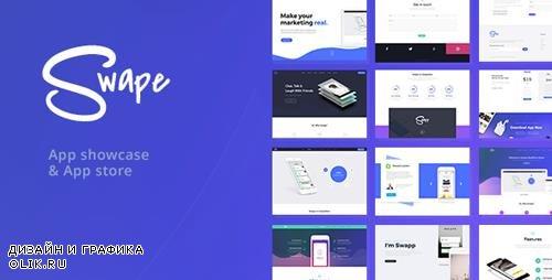 ThemeForest - Swape v1.4.3 - App Showcase & App Store WordPress Theme - 20376082