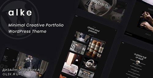 ThemeForest - Alke v1.0.1 - Minimal Creative Portfolio WordPress Theme - 23326989