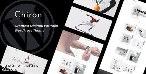 ThemeForest - Chiron v1.0 - Creative Minimal Portfolio WordPress Theme - 23326914