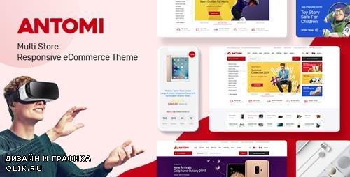 ThemeForest - Antomi v1.0 - Multipurpose Theme for WooCommerce WordPress - 23902631