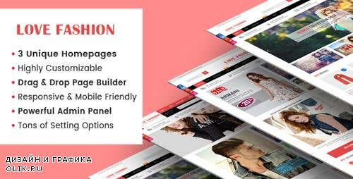 ThemeForest - LoveFashion v1.0.1 - Responsive Multipurpose Sections Drag & Drop Builder Shopify Theme - 21633912