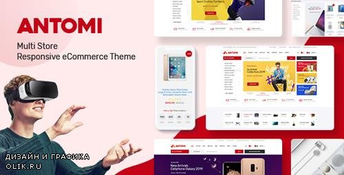 ThemeForest - Antomi v1.0.0 - Multipurpose OpenCart Theme (Included Color Swatches) - 24020676