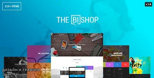 ThemeForest - Bishop v1.0 - Multi-Purpose One & Multi Page HTML Template - 15162797