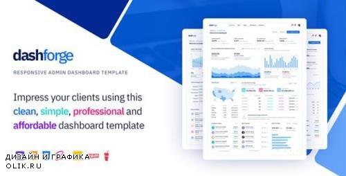 ThemeForest - Dashforge v1.0 - Responsive Admin Dashboard Template - 23725961