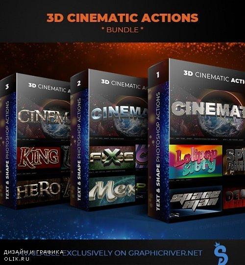 3D Cinematic Actions - Bundle 23986338