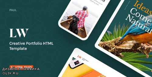 ThemeForest - Lewis v1.0 - Creative Portfolio & Agency HTML Template - 24120361