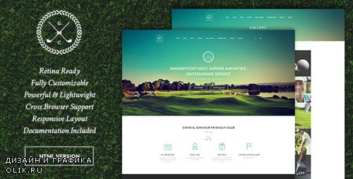 ThemeForest - N7 v1.0.3 - Golf Club, Sports & Events Site Template - 19789462