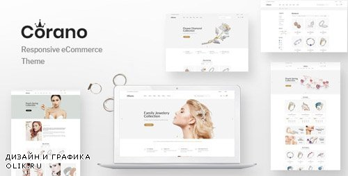 ThemeForest - Corano v1.0.0 - Jewellery Theme for WooCommerce WordPress - 24061739