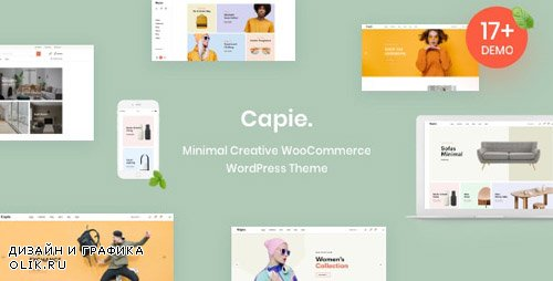 ThemeForest - Capie v1.0.2 - Minimal Creative WooCommerce WordPress Theme - 23824695