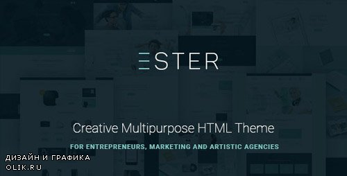 ThemeForest - Ester v1.0 - Multipurpose Site Template - 14865327