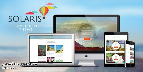 ThemeForest - Solaris v1.0 - Travel Agency Site Template - 14932038