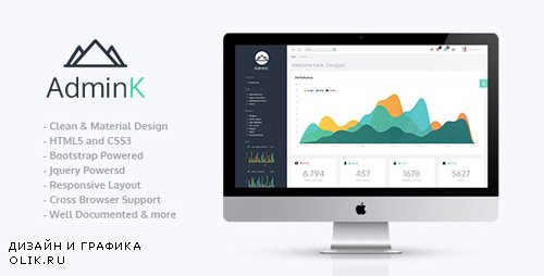 ThemeForest - AdminK v1.1 - Bootstrap Admin Template - 17045508