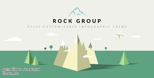 ThemeForest - Rock Group v1.5 - Multipurpose Infographic Theme - 9005879