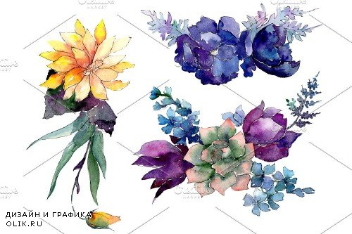 A bouquet of flowers Limitless joy - 3941119