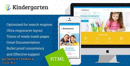 ThemeForest - Kindergarten v1.1 - Children HTML Theme - 12850911