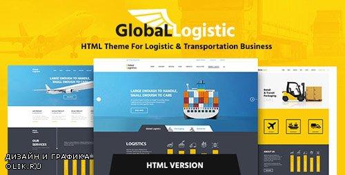 ThemeForest - Global Logistics v1.1 - Transportation HTML Template - 13100239
