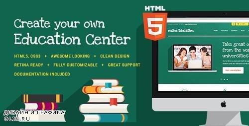 ThemeForest - Education Center v1.1 - Education Center & Training Courses HTML Theme - 13475420
