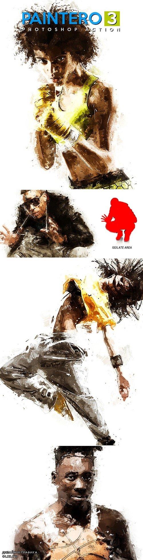 Paintero 3 - Photoshop Action 24042087