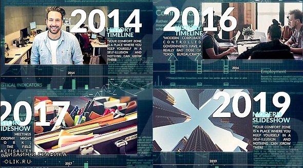 Corporate Timeline 255459 - AFEFS Templates