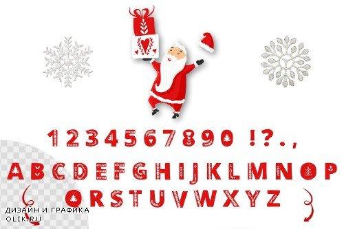Scandinavian Christmas in red - 3061409
