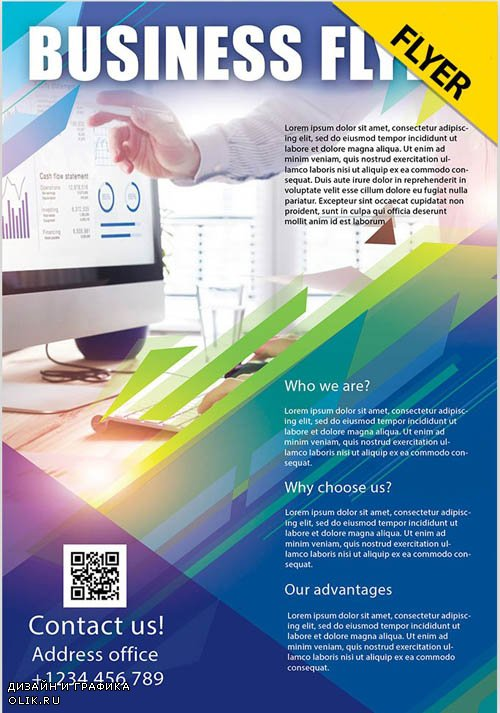 Business Flyer V24_07 2019 PSD Flyer Template