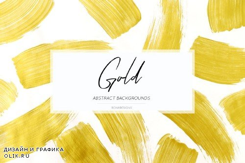 Gold Background, Abstract Texture - 3959906