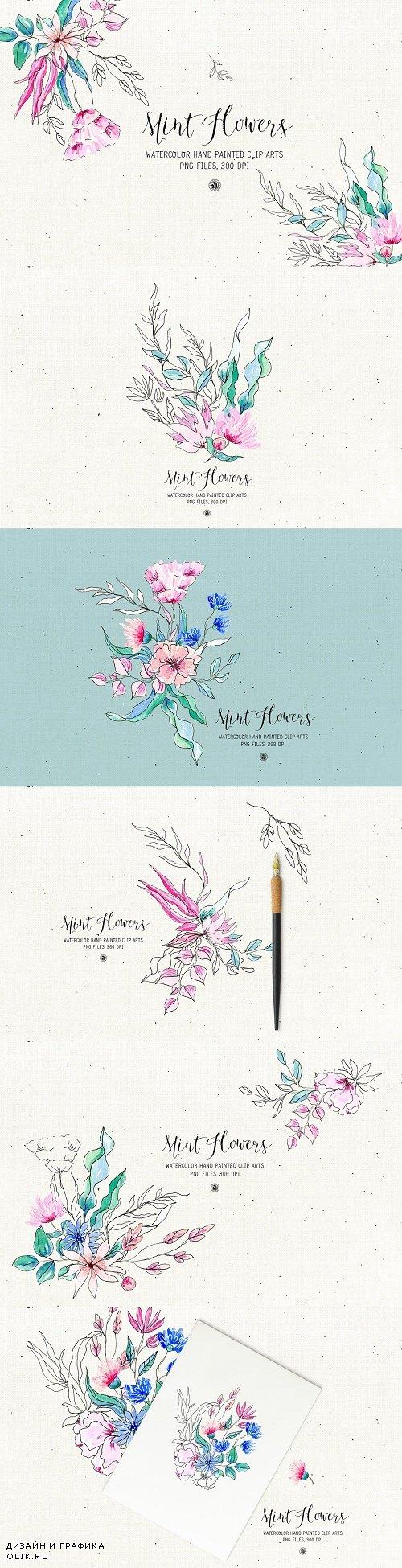 Mint Flowers - 3959913