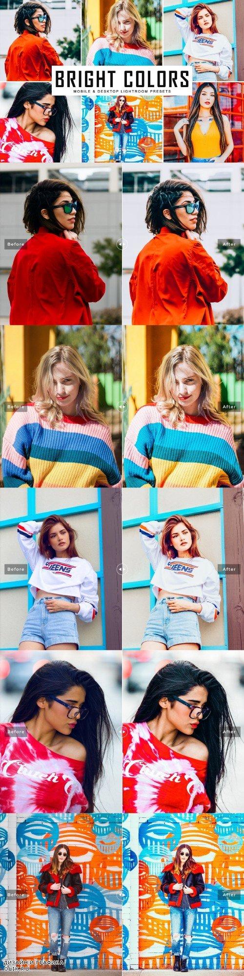 Bright Colors LRM Presets - 3967258