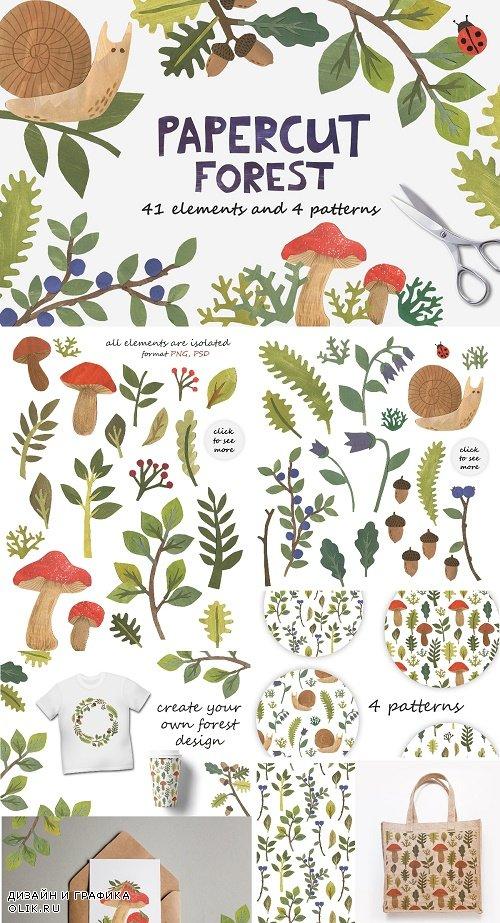 Papercut Forest - 3454628