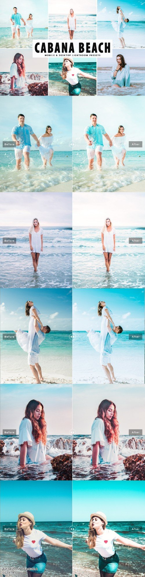 Cabana Beach LRM Presets - 3970014