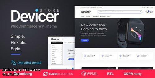 ThemeForest - Devicer v1.0.6 - Electronics, Mobile & Tech Store - 21162601
