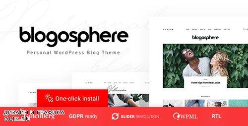 ThemeForest - Blogosphere v1.0.4 - Multipurpose Blogging Theme - 21736173