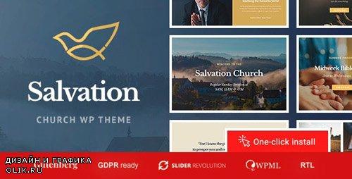 ThemeForest - Salvation v1.0.6 - Church & Religion WP Theme - 20960385