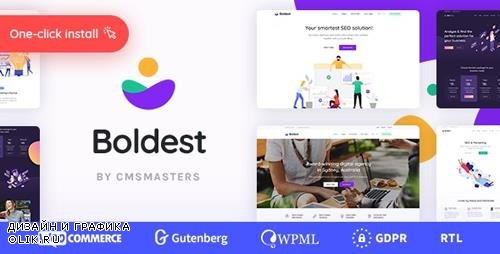ThemeForest - Boldest v1.0.0 - Consulting and Marketing Agency Theme - 23678915