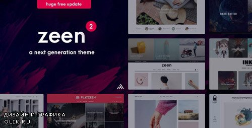 ThemeForest - Zeen v2.3 - Next Generation Magazine WordPress Theme - 22709856