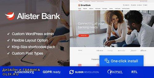 ThemeForest - Alister Bank v1.0.7 - Credits & Banking Finance WordPress Theme - 20768735