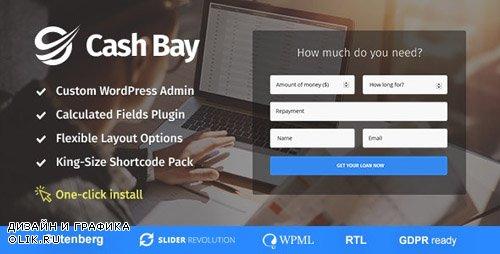 ThemeForest - Cash Bay v1.0.4 - Loan & Credit Money WP Theme - 20960174