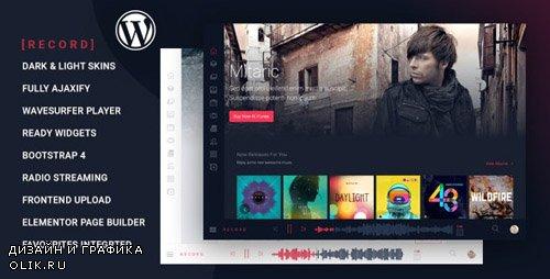 ThemeForest - Rekord v1.3.4 - Ajaxify Music - Events - Podcasts Multipurpose WordPress Theme - 23516416