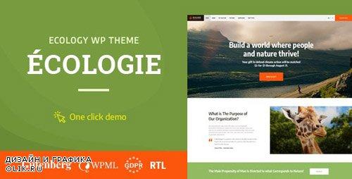 ThemeForest - Ecologie v1.0.2 - Environmental & Ecology WordPress Theme - 22601627