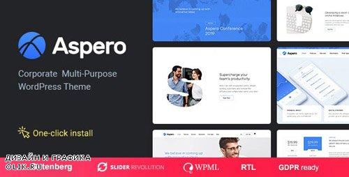 ThemeForest - Aspero v1.0.3 - Business WordPress Theme - 22226666