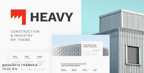 ThemeForest - Heavy v1.0.1 - Industrial WordPress Theme - 23711685