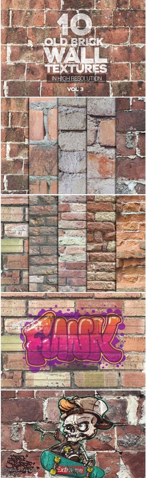 Old Brick Wall Textures Vol 3 x10 3976506