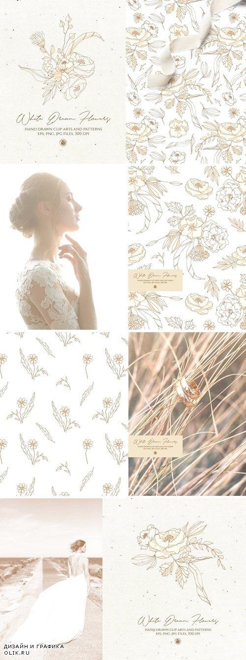 White Dream Flowers 3981263